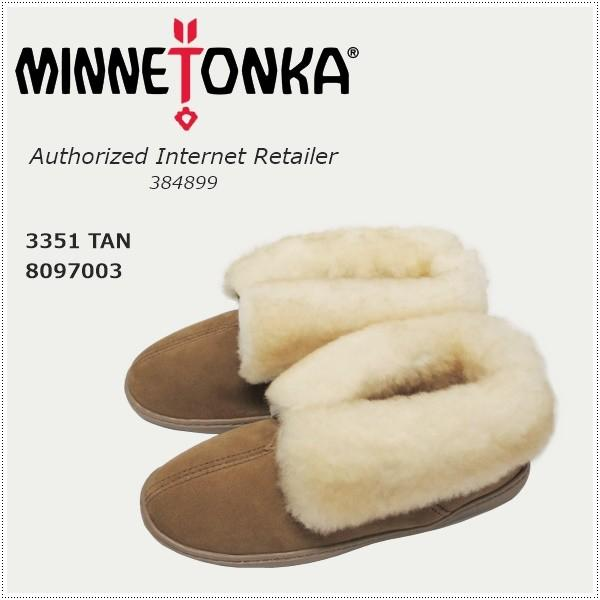MINNETONKA ミネトンカ シープスキンアンクルブーツ 3351|centas