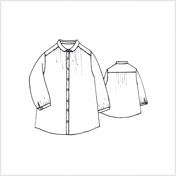 SunValley サンバレー  無地8分袖ボイルギャザーシャツ  SKT002007 製品染め レディース 綿 ブラウス|centas|05