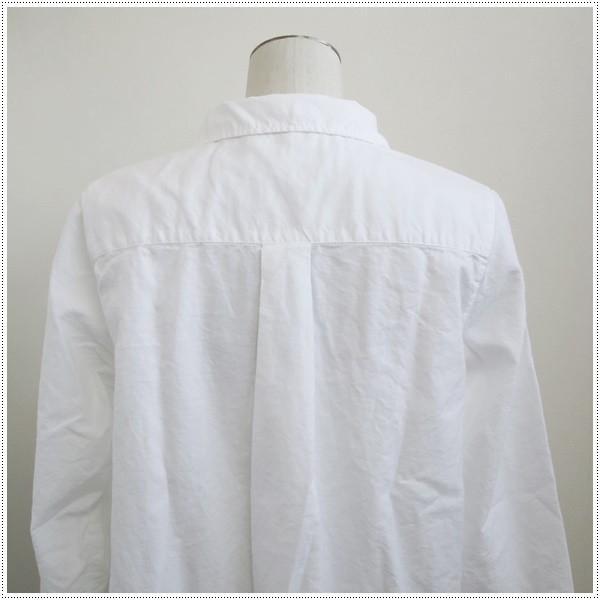 Sun Valley サンバレー  無地長袖オックス製品染シャツ SK8070175  8697137 レディース  製品染め  綿100%|centas|04