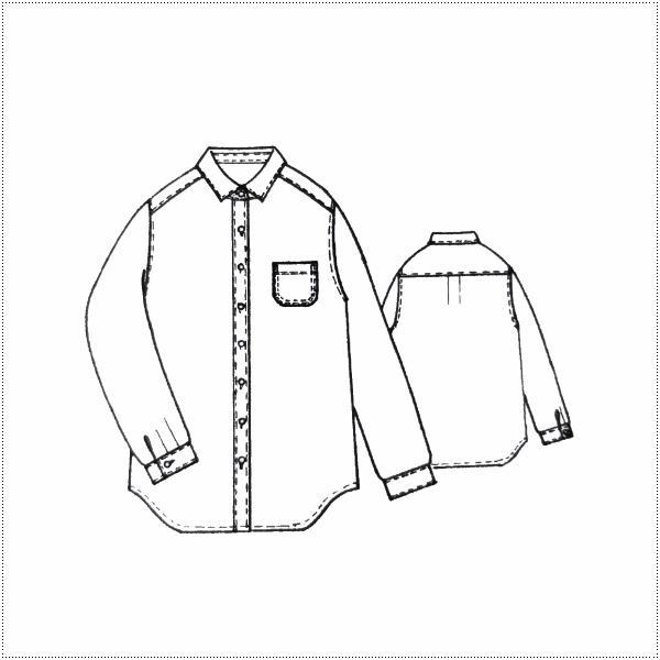Sun Valley サンバレー  無地長袖オックス製品染シャツ SK8070175  8697137 レディース  製品染め  綿100%|centas|06