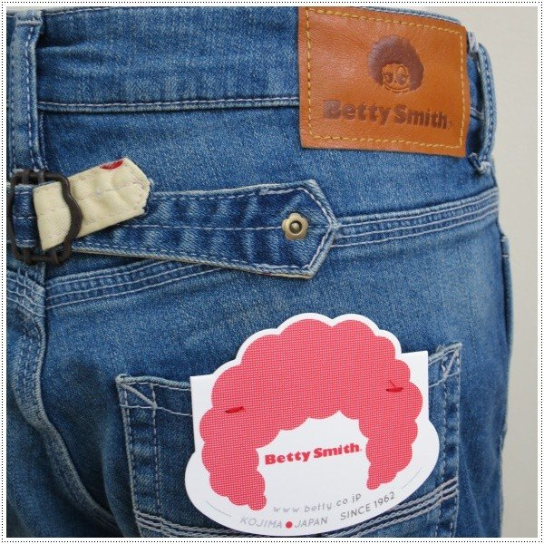 Betty Smith ベティスミス スリムボーイフレンドパンツ BAW5047-02|centas|04