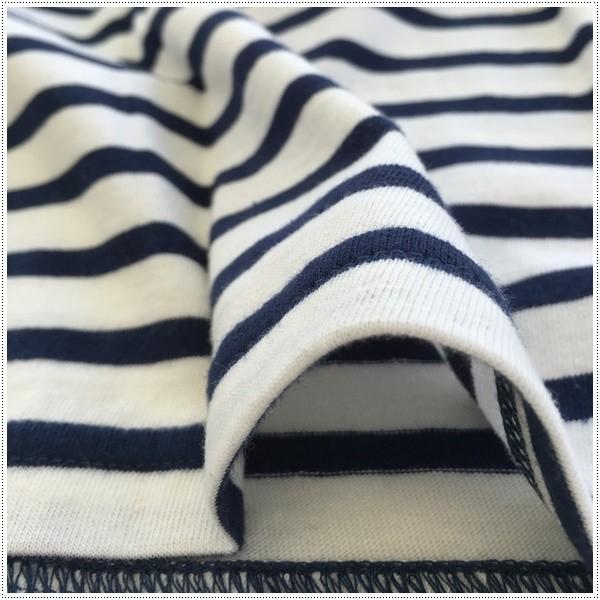 FRUIT OF THE LOOM 922-FRDH1 クルーネック ホワイトTシャツ+ボーダーTシャツ2枚セット フルーツオブザルーム|centas|03