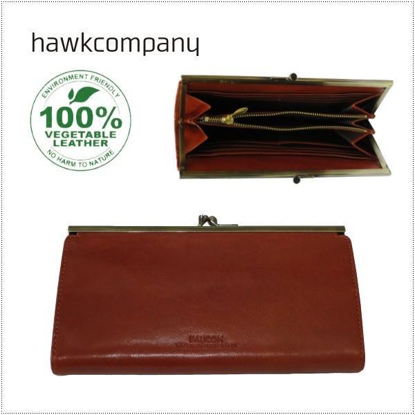 Hawk Company ホークカンパニー がまぐちロングウォレット がま口財布  長財布 3425|centas
