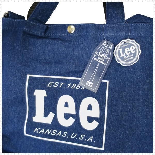 Lee  リー コットン キャンバス 2WAY トート|centas|05