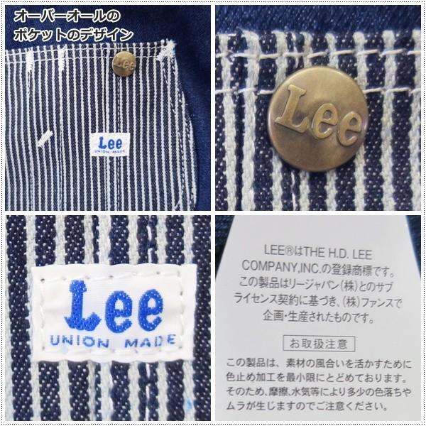 Lee リー デニム オーバーオール ポケット ミニ トートバッグ|centas|02