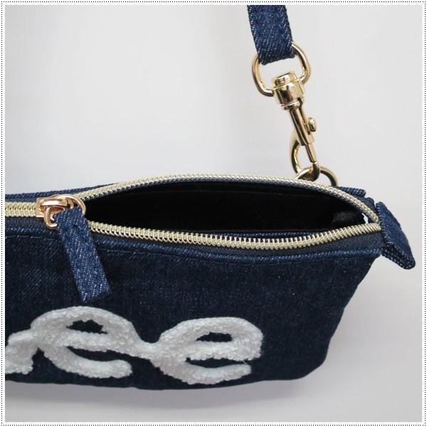 Lee  ロゴ サガラ刺繍 ショルダーバッグ サコッシュ|centas|05