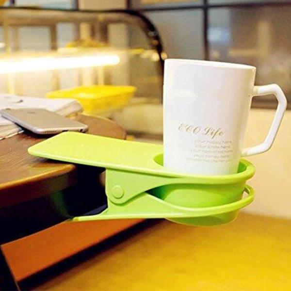 ドリンク ホルダー クリップ式 取って付き ペットボトル マグカップ 使いやすい 赤 青 緑 黒 白 centerwave 07