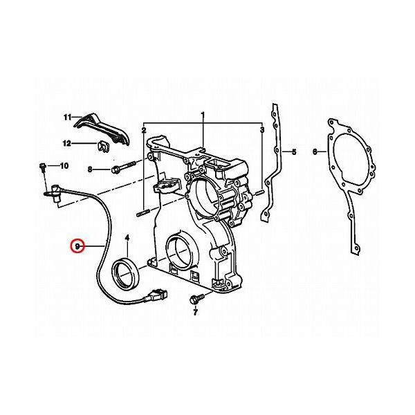 Bmw Z3 2 8 L: クランク角センサー BMW Z3(E36) 2.8 12141703277