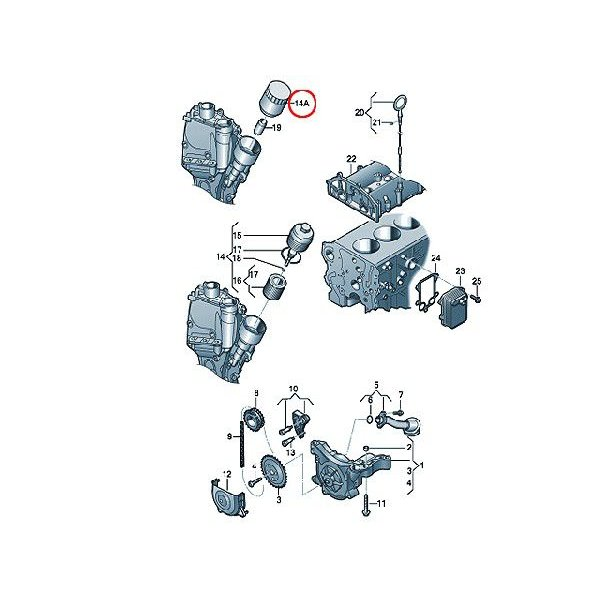 ≪即納≫オイルフィルター フォルクスワーゲン ジェッタ(2008y〜) 1KCAV エンジンオイルエレメント JETTA|centpiashop|02