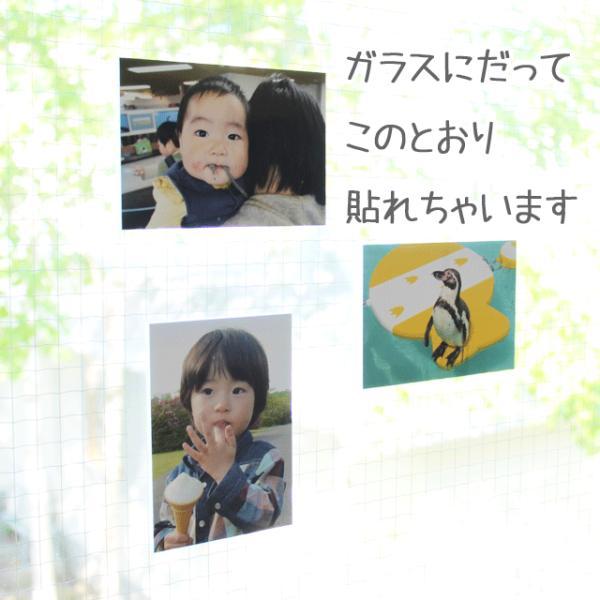 壁アルバム 写真を貼って、飾れるフォトパネル shacolla シャコラ ましかくプリント用 壁タイプ ホワイトパネル お得な5枚セット|centts|04