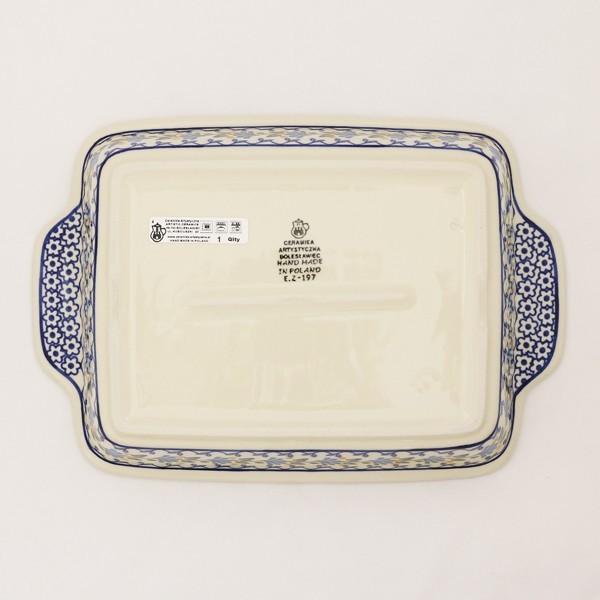 グラタン皿 大 No.883 Ceramika Artystyczna ( セラミカ / ツェラミカ ) ポーランド食器|ceramika-artystyczna|04