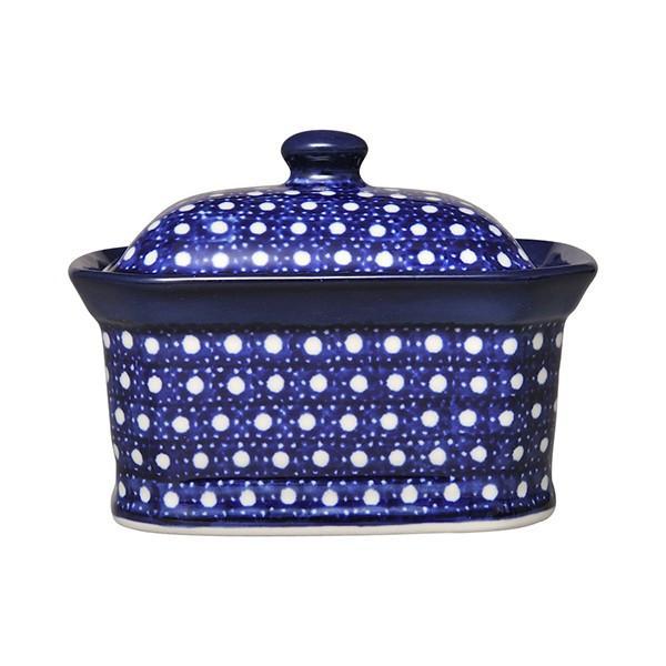 セラミカ(ツェラミカ)カミーノ キャンディボックス(小)|ポーリッシュポタリー ポーランド陶器 ポーランド食器