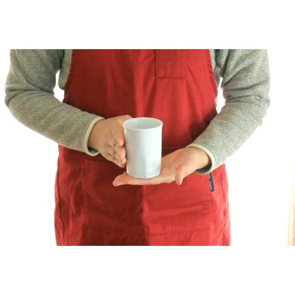 カップ ストライプ 縦じまフリーカップ 200cc 洋食器 カフェ 白い食器 ポーセリンアート 食器 陶器 ぐい呑 タンブラー湯飲み 国産 美濃焼|cerapockke|08