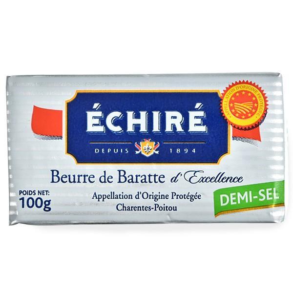 エシレ[ECHIRE]フランス産 有塩バター100g[冷蔵/冷凍]【2〜3営業日以内に出荷】