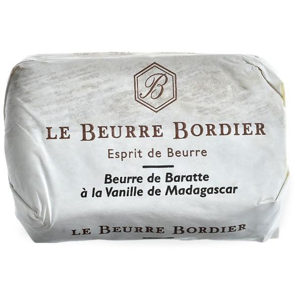 フランス産 ボルディエ[Bordier]バター マダガスカル・ヴァニラ125g[冷蔵/冷凍]