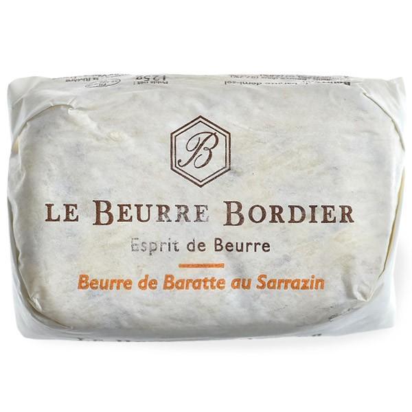 発酵バター フランス産 ボルディエ[Bordier]バター サラザン[そば]125g[冷蔵/冷凍]