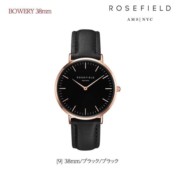 ローズフィールド ROSEFIELD 腕時計 レザーベルト レディース 時計 トライベッカ TRIBECA 33mm バワリー BOWERY 38mm ローズゴールド