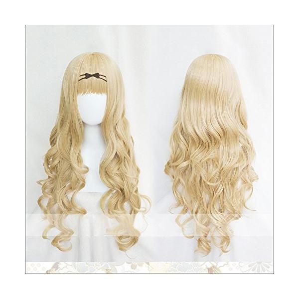 耐熱コスプレウィッグ 二番目の城 真城璃茉 しゅごキャラ ましろりま ハロウィン イベント仮装 wig +おまけ2点