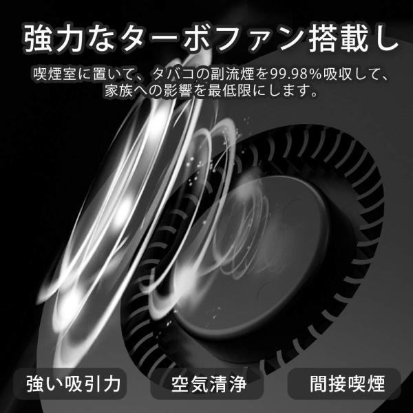 JPSTAR 脱臭機 灰皿 空気清浄機 3in1スモークレス灰皿 2階段風量切替 高性能HEPAフィルター搭載 殺菌 耐久性 USB充電式
