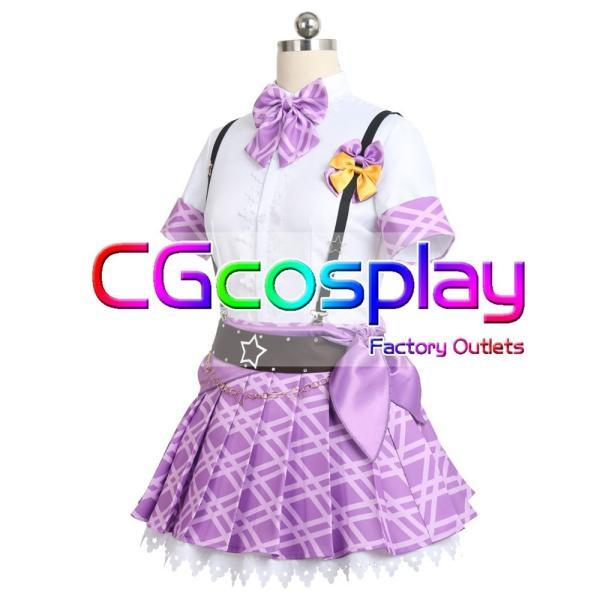 送料無料!! 激安!! BanG Dream!(バンドリ) Poppin'Party 市ヶ谷有咲 コスプレ衣装+靴 セット cgcos 03