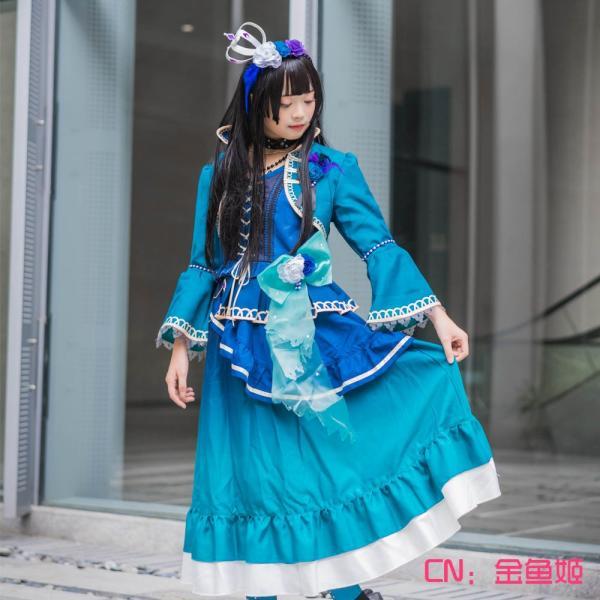 送料無料!! 激安!! BanG Dream!(バンドリ) Roselia 5th Single「Opera of the wasteland」 白金燐子 コスプレ衣装|cgcos
