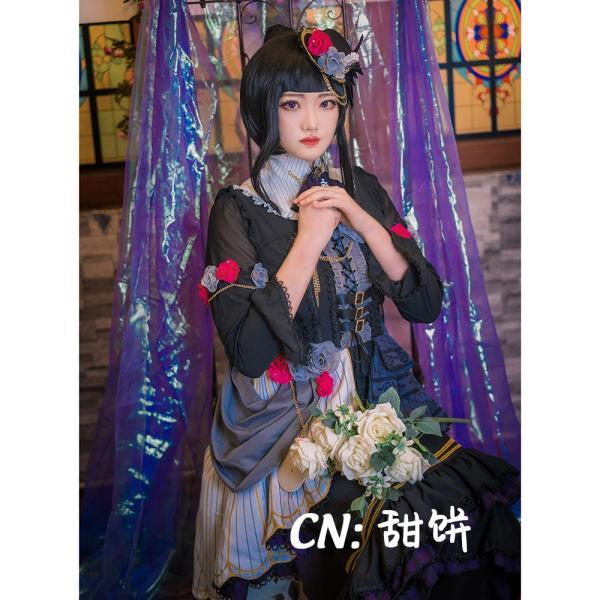 送料無料!! 激安!! BanG Dream!(バンドリ) Roselia「Neo-Aspect」 白金 燐子 コスプレ衣装|cgcos
