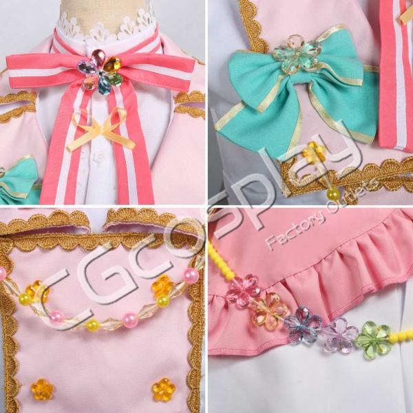 送料無料!! 激安!! BanG Dream!(バンドリ) Pastel*Palettes セカンドキービジュアル 煌めくステージへ  丸山 彩 コスプレ衣装|cgcos|05