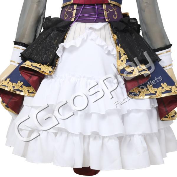 送料無料!! 激安!! BanG Dream!(バンドリ!) 7th☆LIVE Roselia 白金 燐子 コスプレ   衣装|cgcos|08