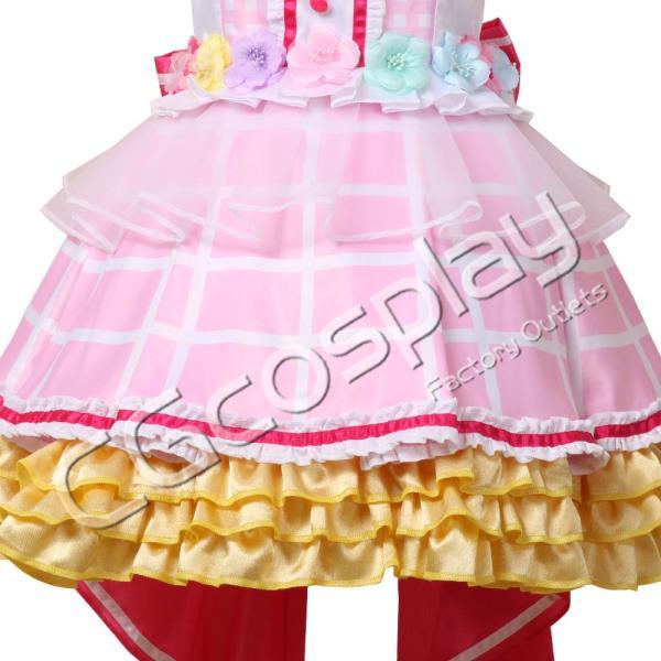 送料無料!! 激安!! BanG Dream!(バンドリ) Pastel*Palettes ドリームイルミネート 2周年 丸山 彩 コスプレ衣装 cgcos 06
