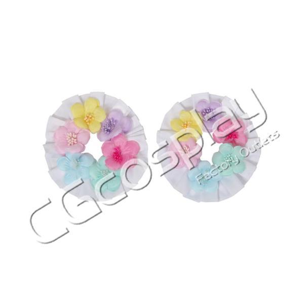 送料無料!! 激安!! BanG Dream!(バンドリ) Pastel*Palettes ドリームイルミネート 2周年 丸山 彩 コスプレ衣装 cgcos 09