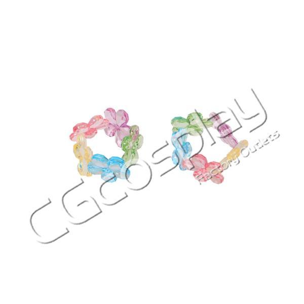 送料無料!! 激安!! BanG Dream!(バンドリ) Pastel*Palettes ドリームイルミネート 2周年 丸山 彩 コスプレ衣装 cgcos 10