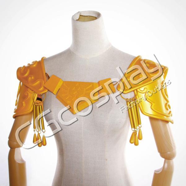 送料無料!! 激安!! ゼルダの伝説 時のオカリナ 姫 肩カバー コスプレ道具 コスプレ衣装|cgcos|05