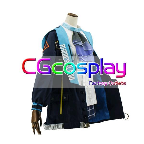 送料無料! 激安!! アークナイツ アーミヤ コスプレ衣装+ウィッグ セット|cgcos|02