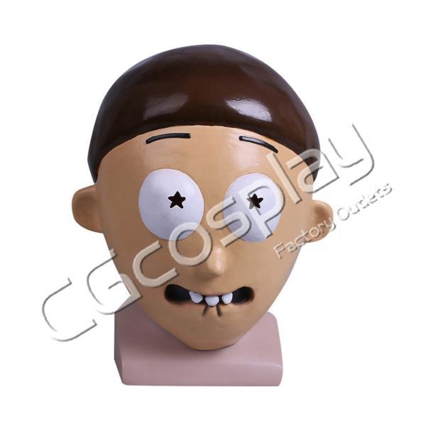 送料無料!! 激安!! リック・アンド・モーティ Rick and Morty モーティ・スミス マスク コスマスク コスプレ仮面 コスプレ衣装|cgcos