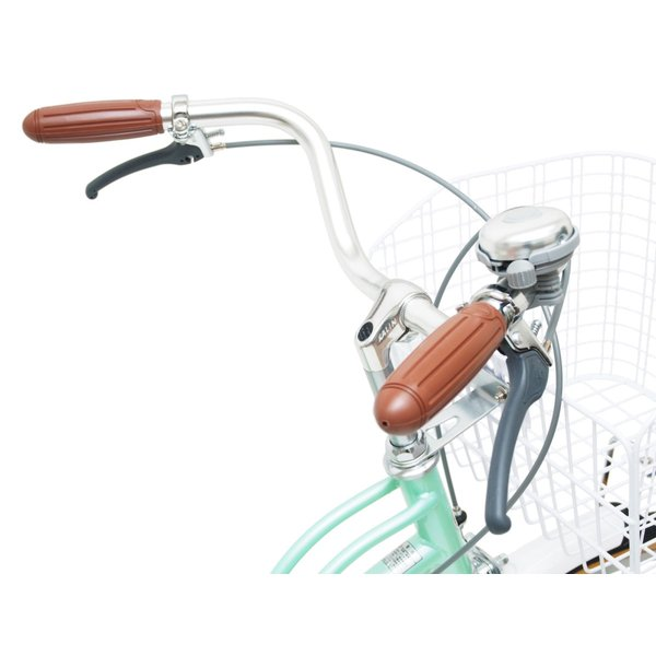 子供用自転車 女の子向け 22インチ 24インチ  女の子 男の子 LEDオートライト パイプキャリア メルロート本州送料無料 「お客様組立」 chalinx 12
