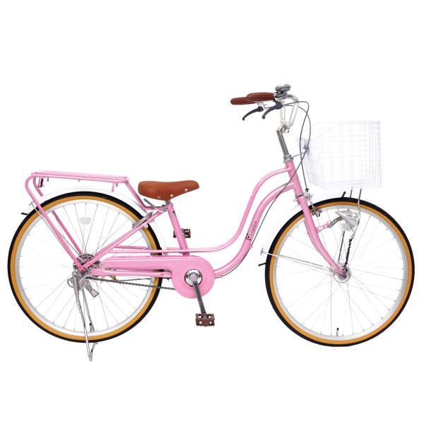 子供用自転車 女の子向け 22インチ 24インチ  女の子 男の子 LEDオートライト パイプキャリア メルロート本州送料無料 「お客様組立」 chalinx 03