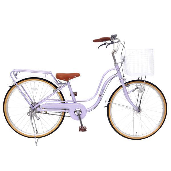 子供用自転車 女の子向け 22インチ 24インチ  女の子 男の子 LEDオートライト パイプキャリア メルロート本州送料無料 「お客様組立」 chalinx 04