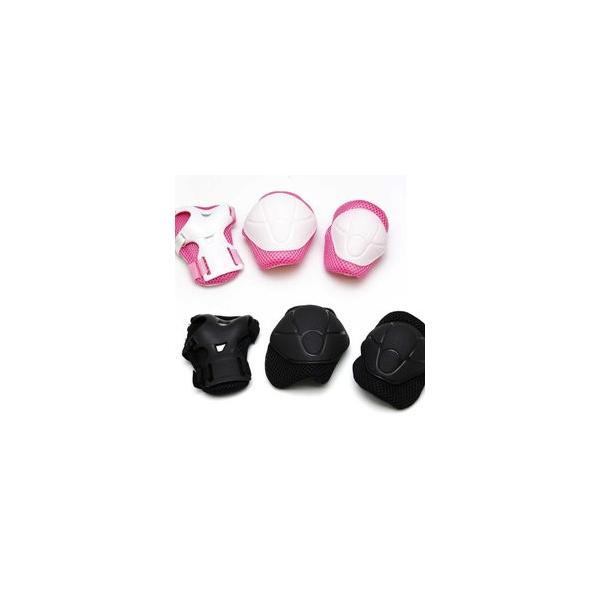 子供用・幼児用 キッズプロテクター 3点セット 自転車 一輪車 ■送料無料(一部地域除く)