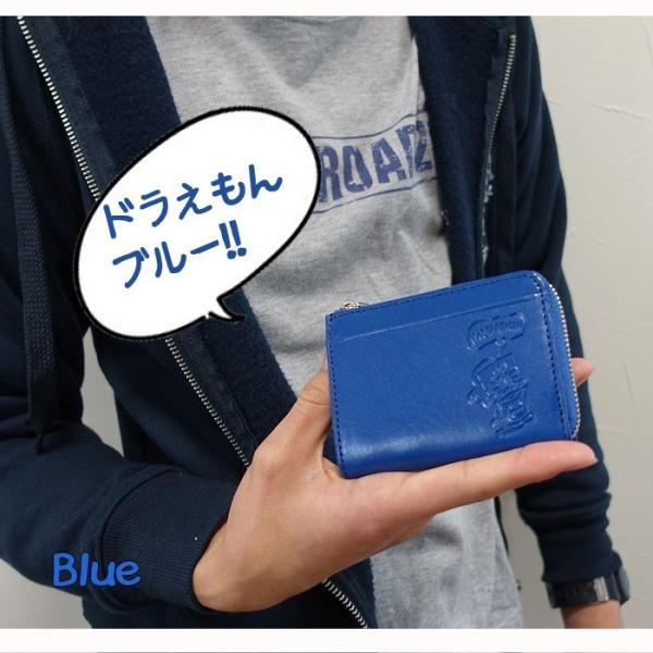財布 メンズ ウォレット 小銭入れ 本革 dor-3 ドラえもん コインパース メール便送料無料|chama-shop|02