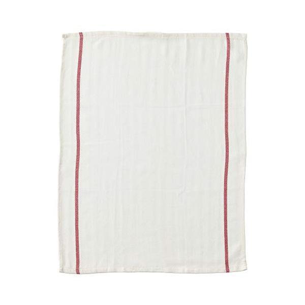 ★テクラ / TEKLA キッチンクロス / ホワイト / レッド[イケア]IKEA(10172798)|chamo-shop|04