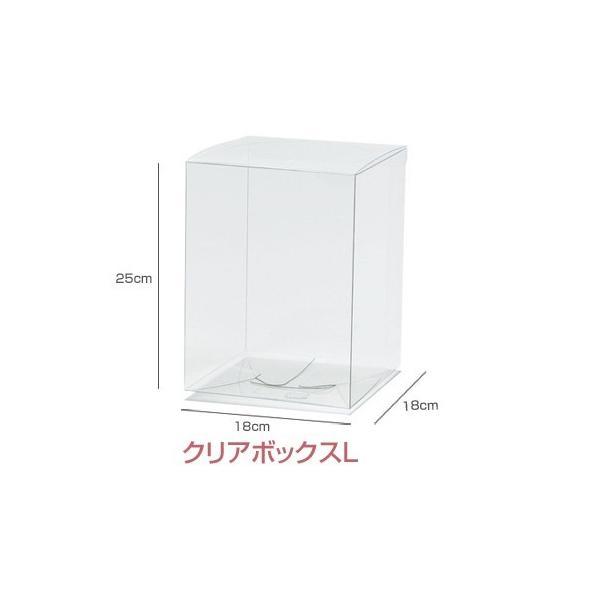 クリアボックス 単品 L サイズ クリアケース プ...