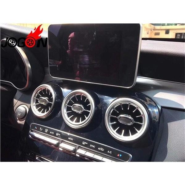 内装用品 メルセデスベンツ 新型 エアベントトリムC GLC クラス W205 X253 AMG エアコン ルーバー カーパーツ ドレスアップ