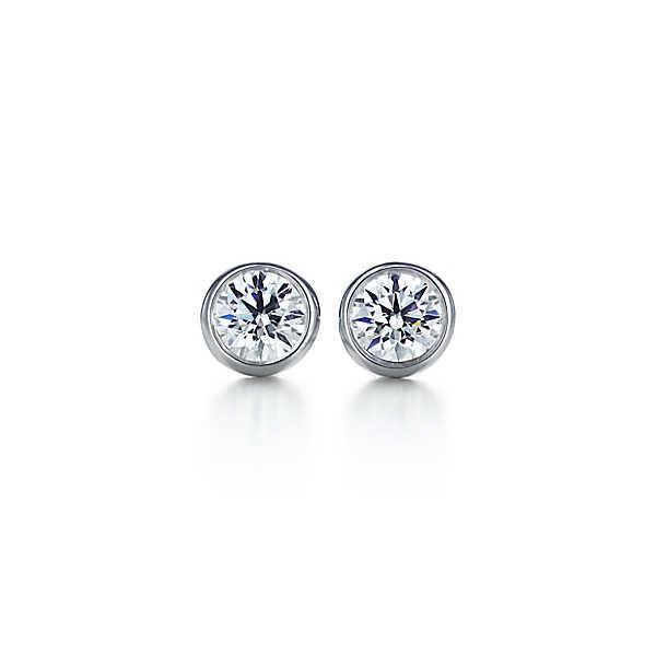 ティファニー TIFFANY ピアス プラチナ ダイヤモンド 0.28カラット