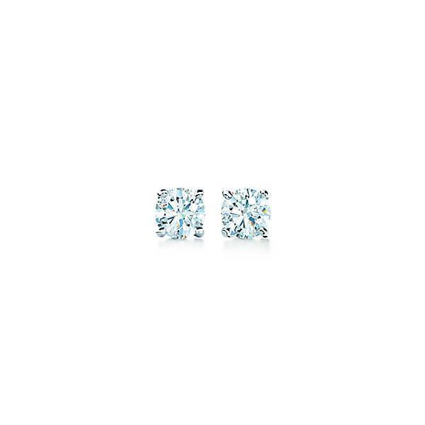 ティファニー TIFFANY ピアス プラチナ ダイヤモンド 0.22カラット