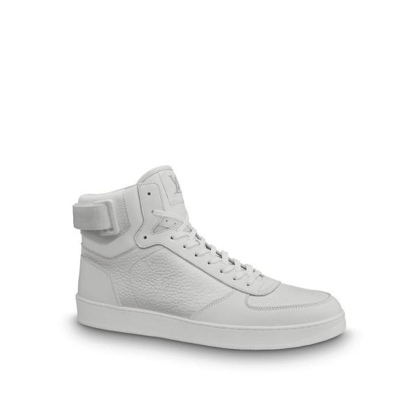 ルイヴィトン LOUIS VUITTON スニーカー シューズ 靴 ブロン ホワイト レザー