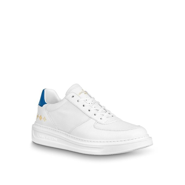 ルイヴィトン LOUIS VUITTON スニーカー シューズ 靴 マリーヌ ブルー ホワイト メッシュ