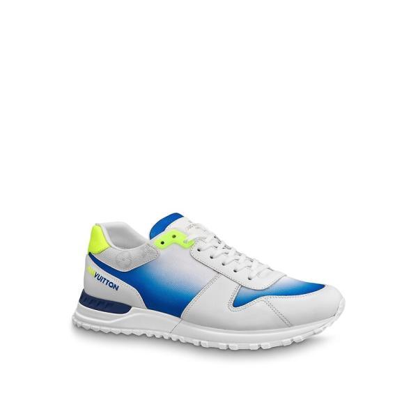 ルイヴィトン LOUIS VUITTON スニーカー シューズ 靴 ジョーヌ ホワイト ブルー イエロー モノグラム