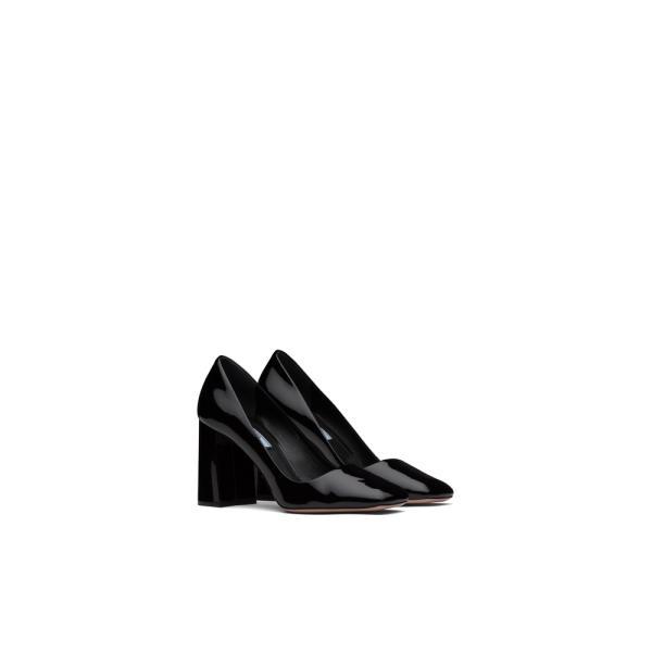 プラダ PRADA パンプス シューズ 靴 ネロ ブラック パテント レザー