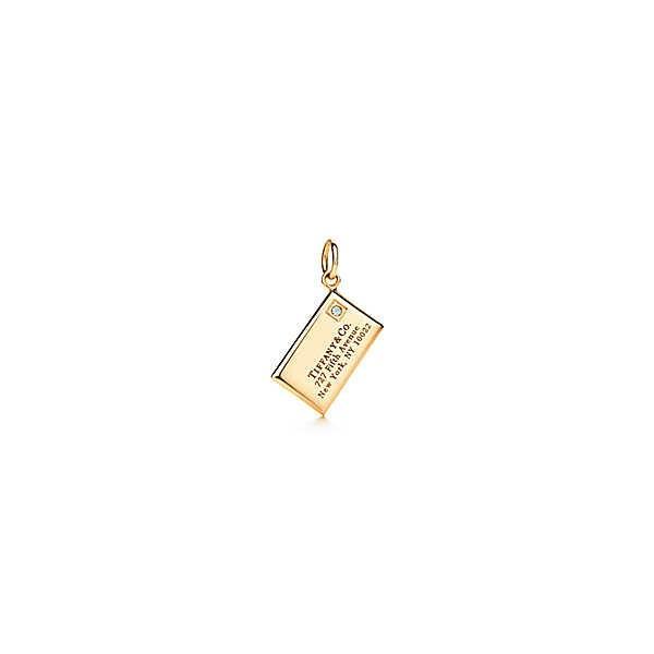 ティファニー TIFFANY ペンダントヘッド チャーム ゴールド 18K ダイヤモンド