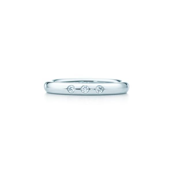 ティファニー TIFFANY 指輪 リング プラチナ ダイヤモンド